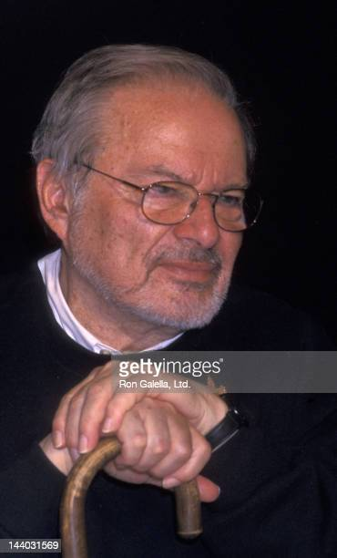 Maurice Sendak attends the book signing of Maurice Sendak 'Where The Wild Things Are' on October 12 2000 at FAO Schwartz Toy Store in New York City