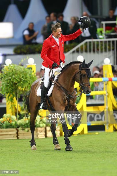 Maurice TEBBEL riding CHACCOS'SON during the Prize of North RhineWestphalia of the World Equestrian Festival on July 21 2017 in Aachen Germany