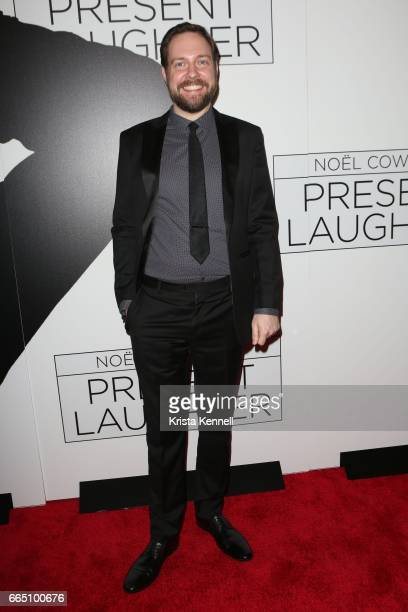 Maurice von Stuelpnagel attends 'Present Laughter' opening night at St James Theatre on April 5 2017 in New York City