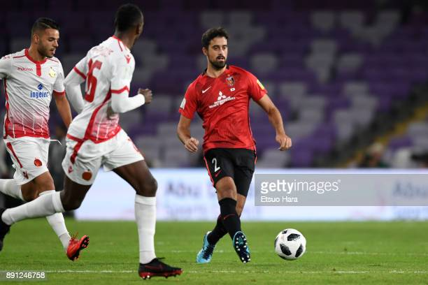 Mauricio Antonio of Urawa Red Diamonds in action during the FIFA Club World Cup UAE 2017 Match for 5th Place between Wydad Casablanca and Urawa Reds...