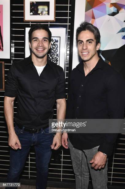 Mauricio Bexoto and Rodrigo Passoa attend PMA with KANTRR Labs and Pierce Capital Entertainment host the Wrap Party of 'Tu Me Manques' Sponsored by...