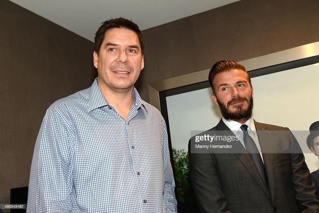 David Beckham Attends Brunch At The Bond : News Photo