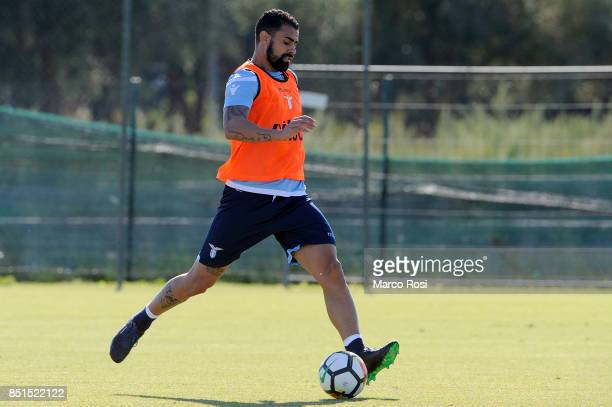 Mauricio Dos Santos of SS Lazio during the SS Lazio training session on September 22 2017 in Rome Italy