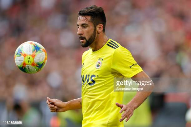 Mauricio Isla of Fenerbahce during the Audi Cup match between Real Madrid v Fenerbahce at the Allianz Arena on July 31 2019 in Munich Germany