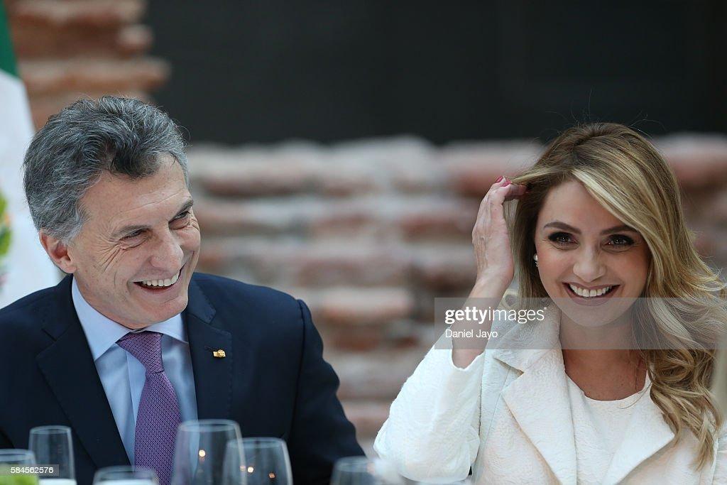 Enrique Pena Nieto Visits Buenos Aires