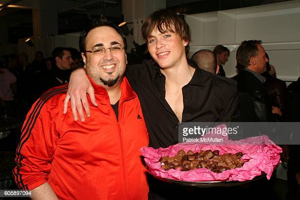 Mauricio Padilha and Nic B attend AMANDA LEPORE DOLL cocktail party at Jeffrey on April 11 2006 in New York City