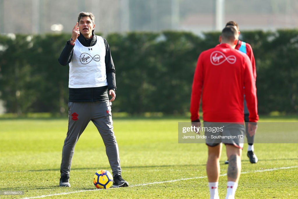 Southampton Training Session : News Photo