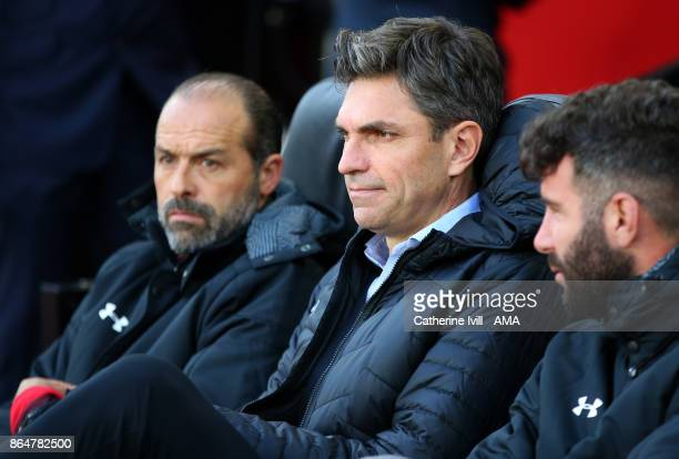 Mauricio Pellegrino manager / head coach of Southampton during the Premier League match between Southampton and West Bromwich Albion at St Mary's...