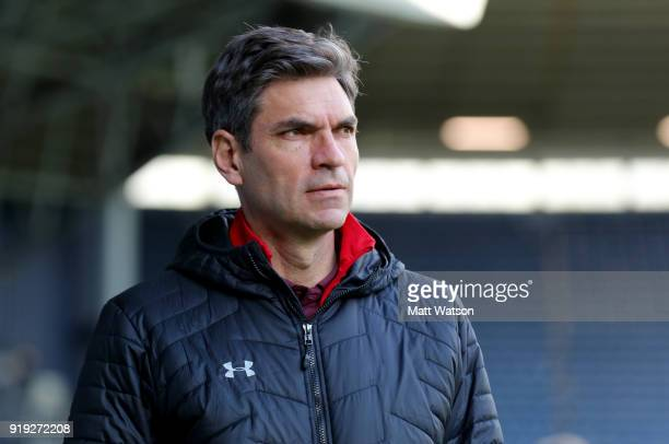 Mauricio Pellegrino of Southampton ahead of the Emirates FA Cup fifth round match between West Bromwich Albion and Southampton at The Hawthorns on...