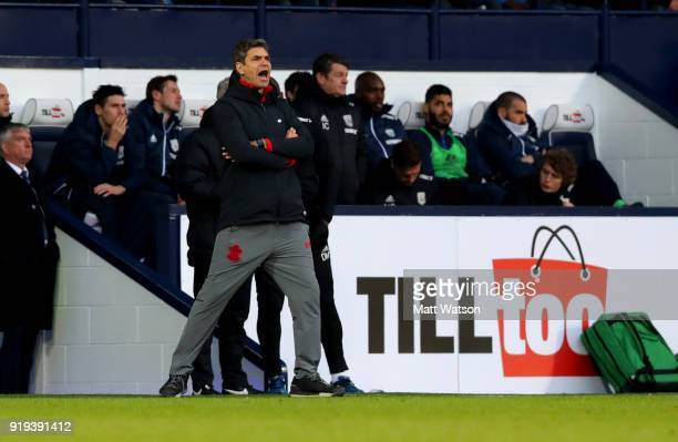 Mauricio Pellegrino of Southampton during the Emirates FA Cup fifth round match between West Bromwich Albion and Southampton at The Hawthorns on...