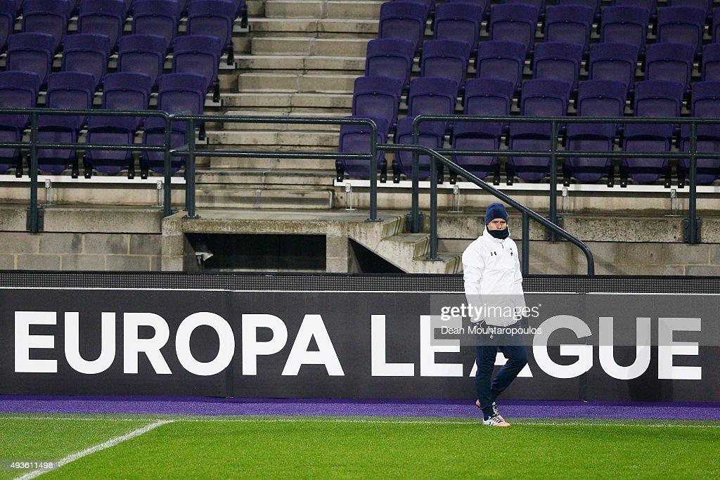 Tottenham Hotspur FC Training & Press Conference : News Photo