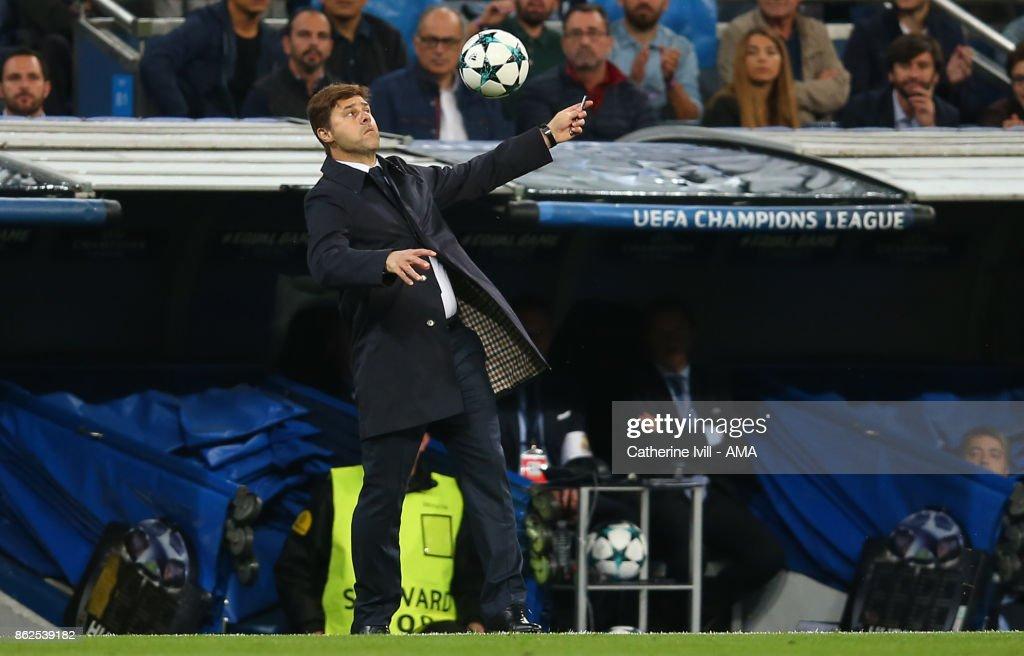 Real Madrid v Tottenham Hotspur - UEFA Champions League : News Photo