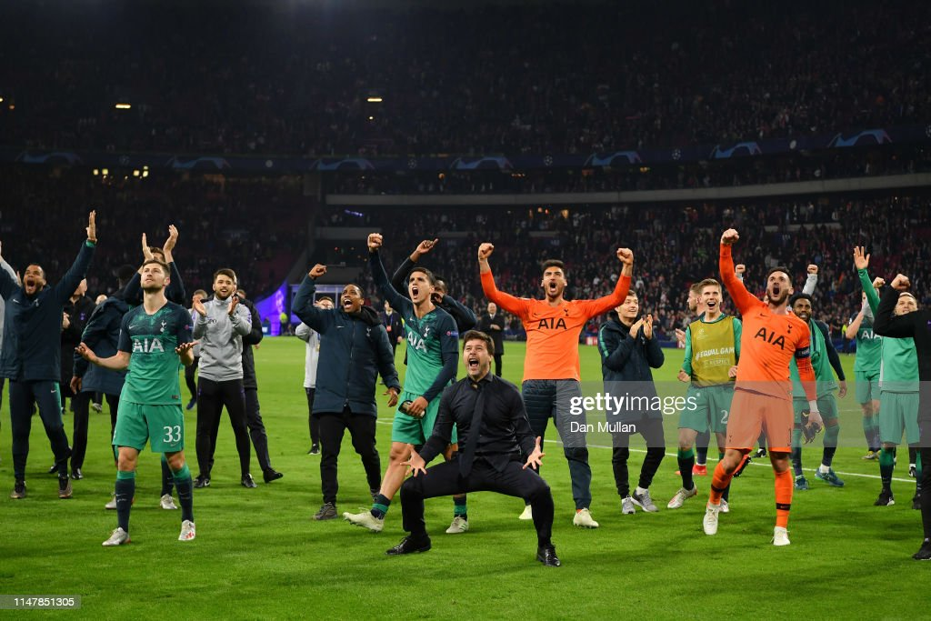 Ajax v Tottenham Hotspur - UEFA Champions League Semi Final: Second Leg : News Photo