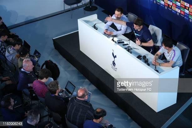 Mauricio Pochettino Manager of Tottenham Hotspur during the Tottenham Hotspur media day at Tottenham Hotspur Training Centre on May 27 2019 in...