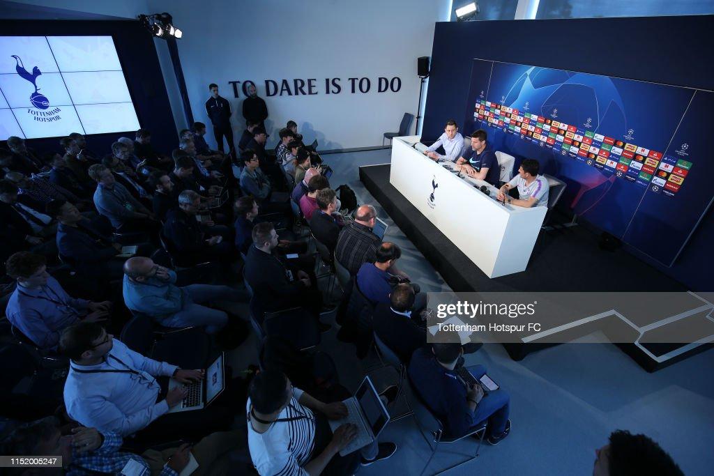 Tottenham Hotspur Media Day : News Photo