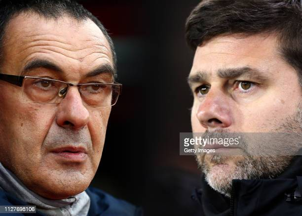 COMPOSITE OF IMAGES Image numbers 10758333601056979670 GRADIENT ADDED In this composite image a comparison has been made between Maurizio Sarri...