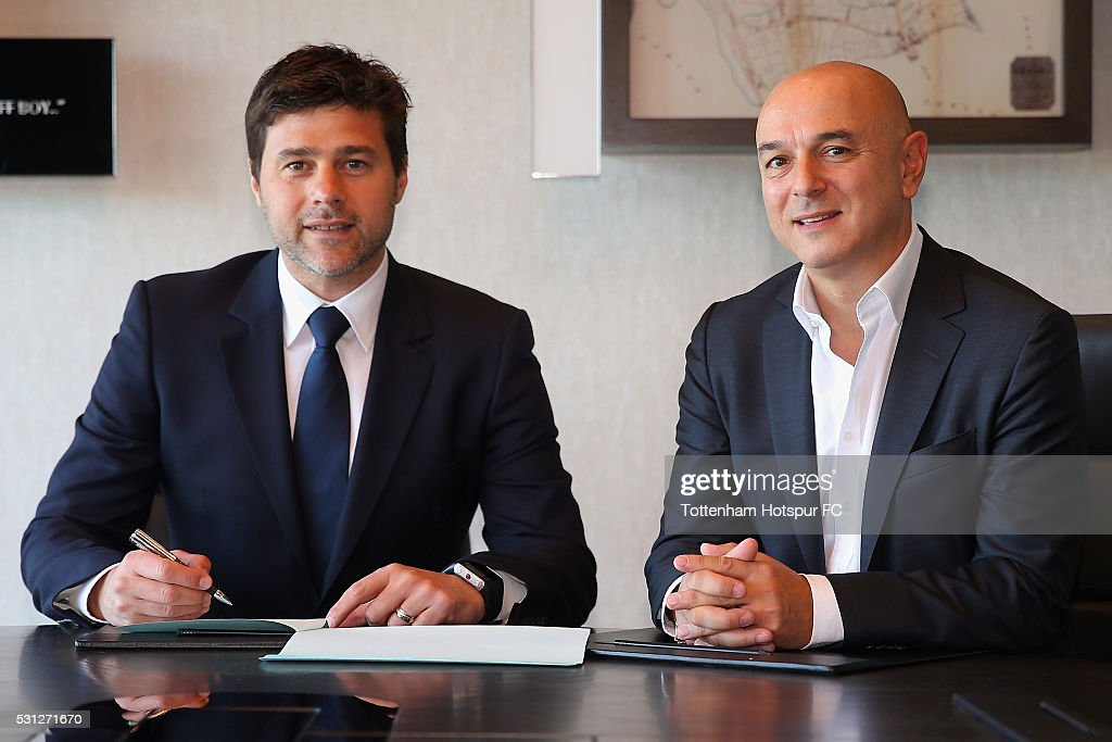 Mauricio Pochettino, Manager of Tottenham Hotspur Signs New Contract : News Photo