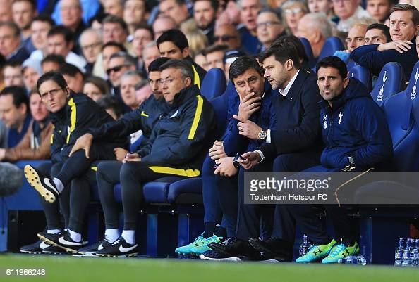 Mauricio Pochettino Manager Of Tottenham Hotspur Speaks To His News Photo Getty Images