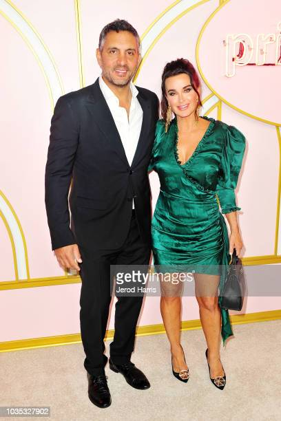 Mauricio Umansky and Kyle Richards arrive at Amazon Prime Video Post Emmy Awards Party 2018 at Cecconi's on September 17 2018 in West Hollywood...