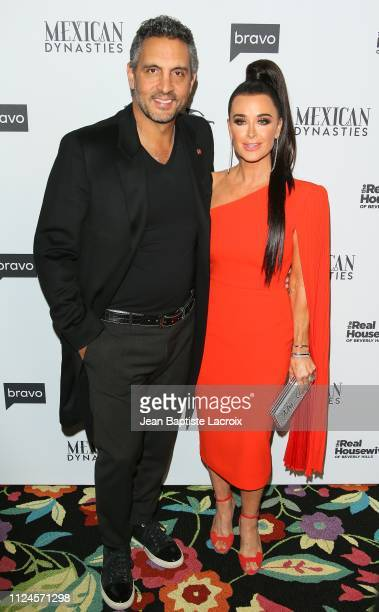 Mauricio Umansky and Kyle Richards attend Bravo's Premiere Party For 'The Real Housewives Of Beverly Hills' Season 9 And 'Mexican Dynasties'at...