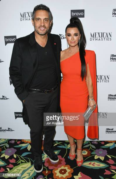 Mauricio Umansky and Kyle Richards attend Bravo's Premiere Party For The Real Housewives Of Beverly Hills Season 9 And Mexican Dynastiesat Gracias...