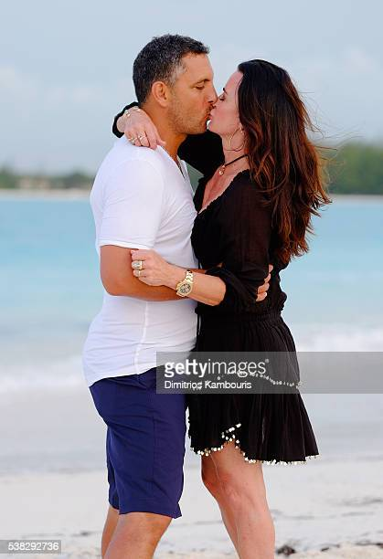 Mauricio Umansky and Kyle Richards attend Sandals Emerald Bay Celebrity Golf Weekend on June 4 2016 in Great Exuma Bahamas