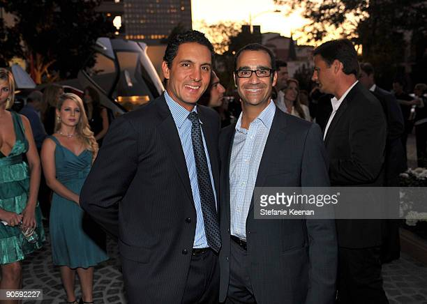 Mauricio Umansky and Philip Press attend The Carlyle Residences Grand Opening on September 10 2009 in Los Angeles California