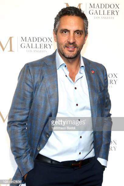 Mauricio Umansky attends the Grand Opening Maddox Gallery Los Angeles on October 11 2018 in West Hollywood California