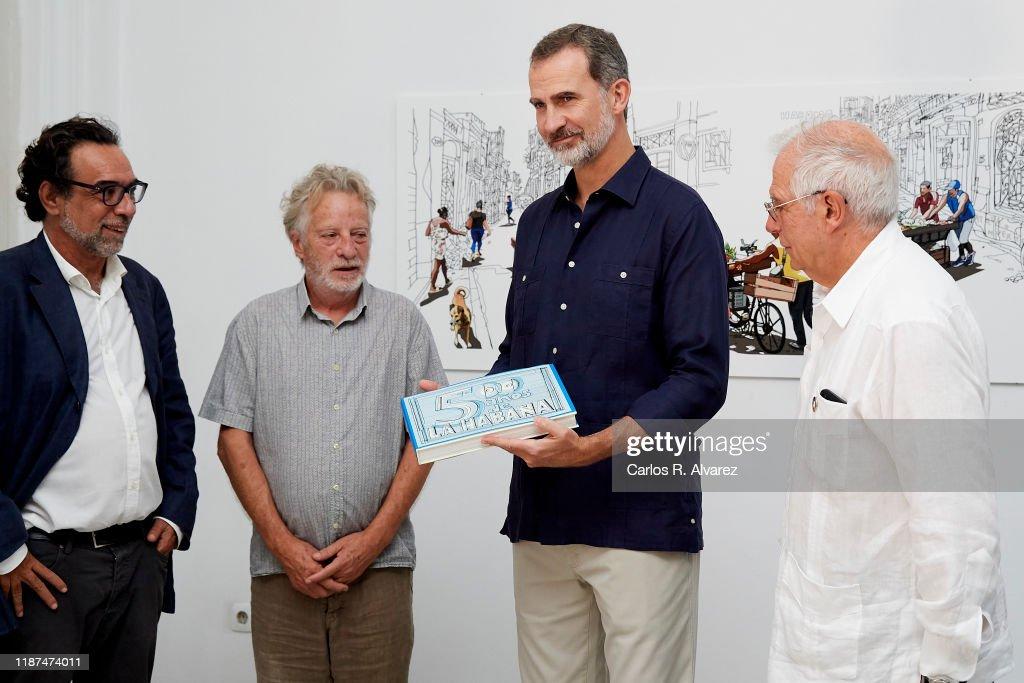 Day 2 - Spanish Royals Visit Cuba : News Photo