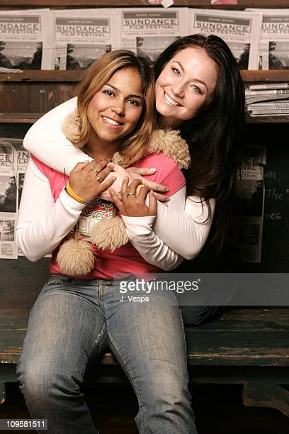 Maurise Maclou and Lindsey Labrum during 2005 Park City Maurise Maclou and Lindsey Labrum Portraits at HP Portrait Studio in Park City Utah United...