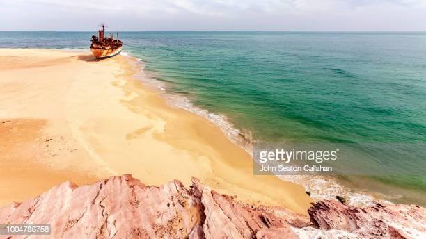 Mauritania, Shipwreck in the Atlantic Ocean