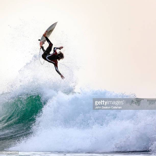 Mauritania, surfing in the Atlantic Ocean