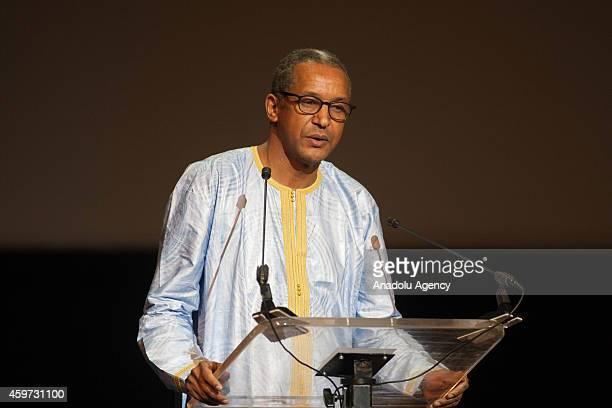 Mauritanian film director Abdulrahman Siyako attends the Carthage Film Festival at the Tunis Theatre on November 292014