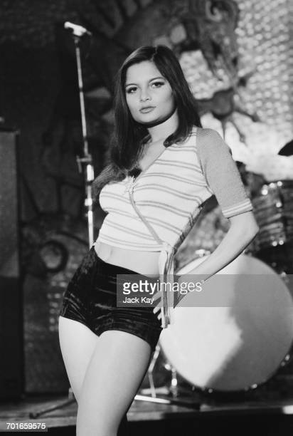 Mauritian actress Françoise Pascal in her role as Martine in the film 'Go Girl' UK 30th November 1971