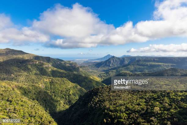 mauritius, black river gorges national park, black river gorges - 自然美 ストックフォトと画像