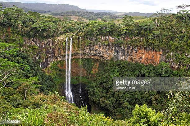 Mauritius chamarel falls