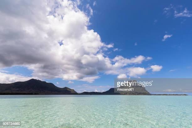 Mauritius, Indian Ocean, Le Morne and Mountain Le Morne Brabant