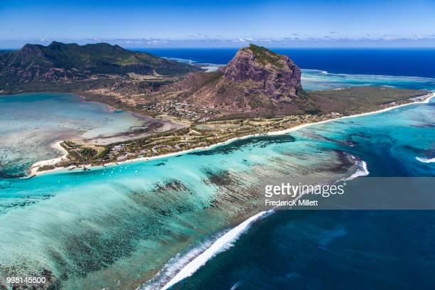mauritius - le morne brabant - islas mauricio fotografías e imágenes de stock