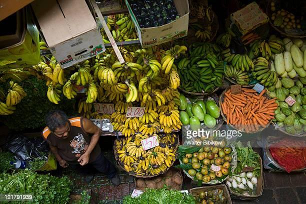 mauritius, port louis, central market interior - port louis stock photos and pictures