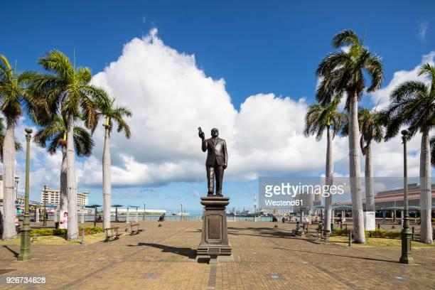 Mauritius, Port Louis, Mauritius, Port Louis, Seewoosagur Ramgoolam Statue