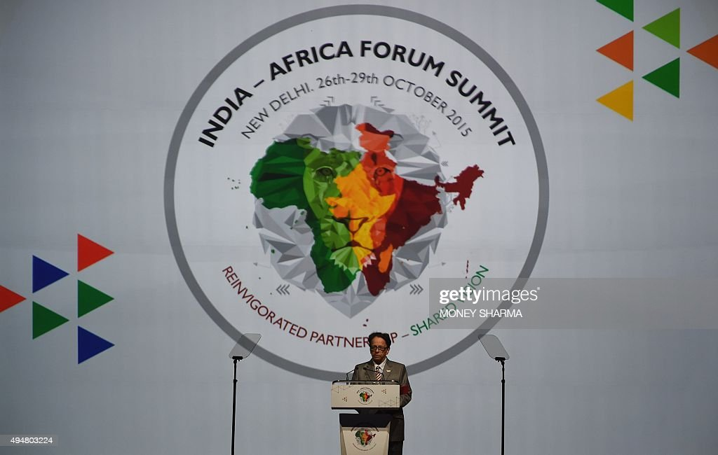 INDIA-AFRICA-TRADE-SUMMIT : News Photo