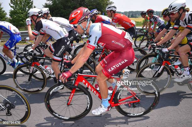 Maurits Lammertink of The Netherlands and Team Katusha-Alpecin / during the 101st Tour of Italy 2018, Stage 13 a 180km stage from Ferrara to Nervesa...