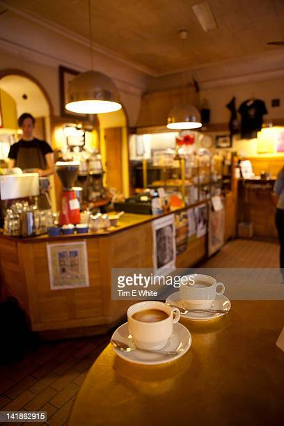 mauritz kaffe, coffeehouse, gothenburg, sweden - gothenburg stock pictures, royalty-free photos & images
