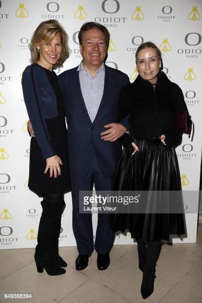 Maurizio Borletti Grace Borletti and guest attend Dessiner L'Or et L'Argent Odiot Orfevre Exhibition Launch at Musee Des Arts Decoratifs on March 7...