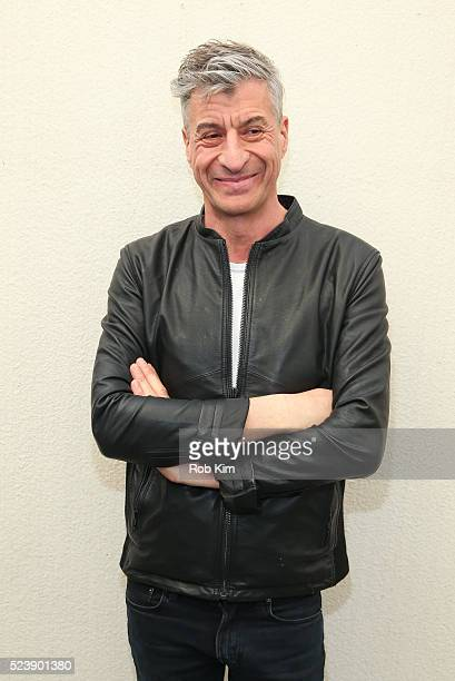 Maurizio Cattelan attends the screening for Maurizio Cattelan Be Right Back during the 2016 Tribeca Film Festival at Guggenheim Museum on April 24...