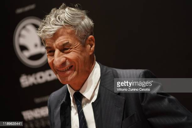 Maurizio Cattelan attends the Vanity Fair Stories 2019 Awards Photocall at The Space Cinema Odeon on November 23 2019 in Milan Italy
