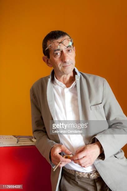 Maurizio Maggiani, Tuscan writer, Fiera Del Libro Internazionale Torino, portrait, Milan, Italy, 2010.