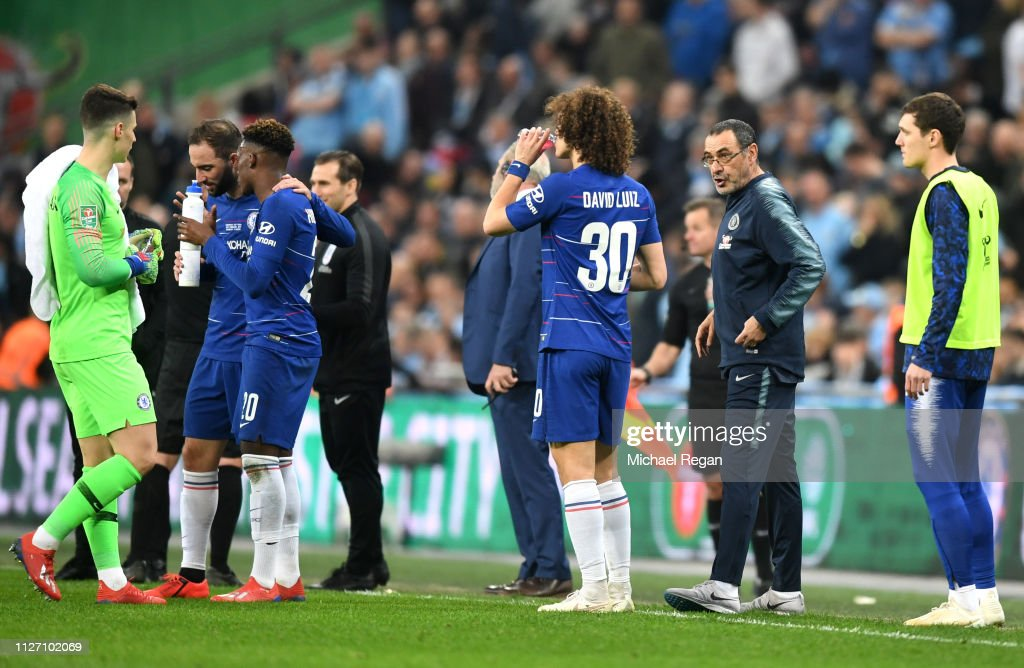 Chelsea v Manchester City - Carabao Cup Final : News Photo