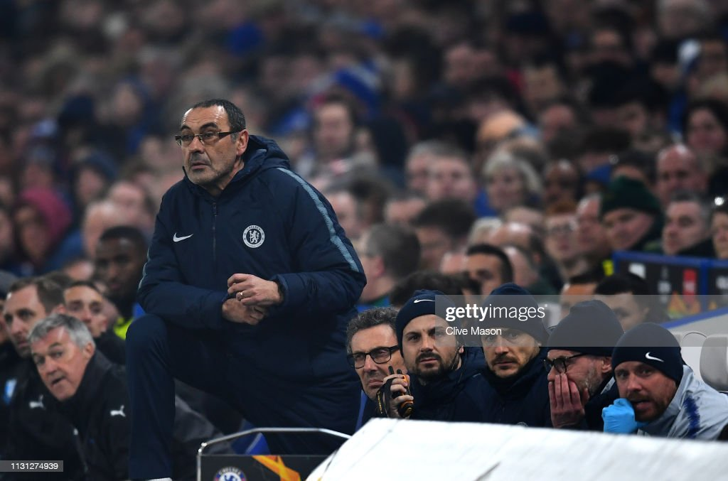 Chelsea v Malmo FF - UEFA Europa League Round of 32: Second Leg : News Photo
