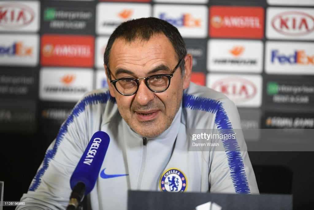 GBR: Chelsea Training Session and Press Conference